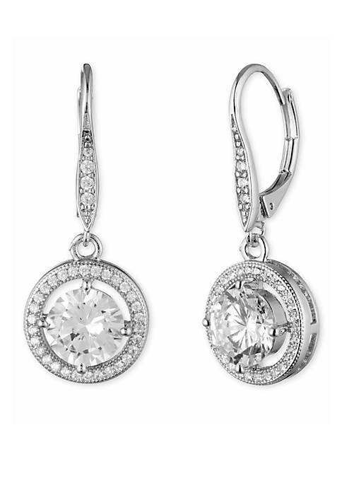 Anne Klein Crystal Drop Earrings