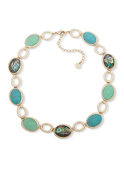 Anne Klein Gold-Tone Collar Necklace
