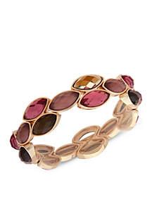 Gold Stone Stretch Bracelet