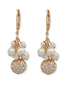 Pearl Shaky Drop Earrings