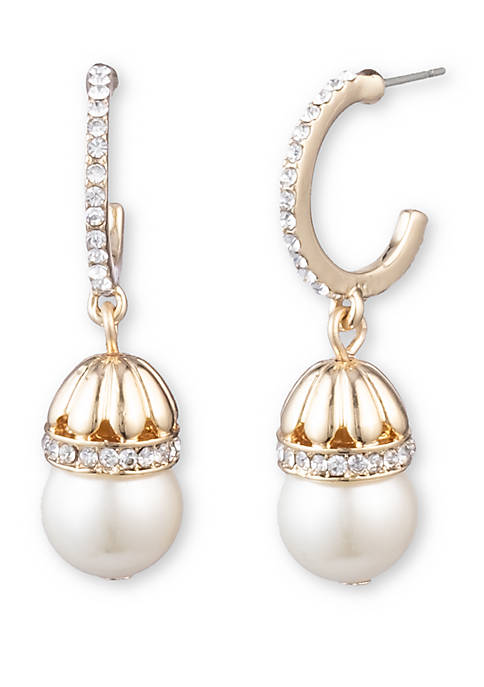 Anne Klein Gold Tone Metal with Pearl and