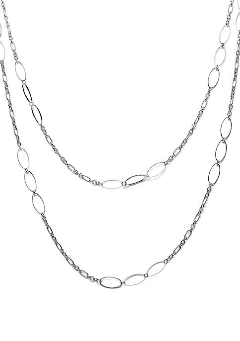 Kim Rogers® Oval Link Statement Necklace