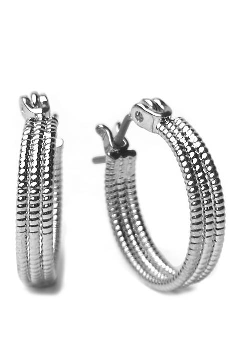 Kim Rogers® Small Triple Hoop Earrings