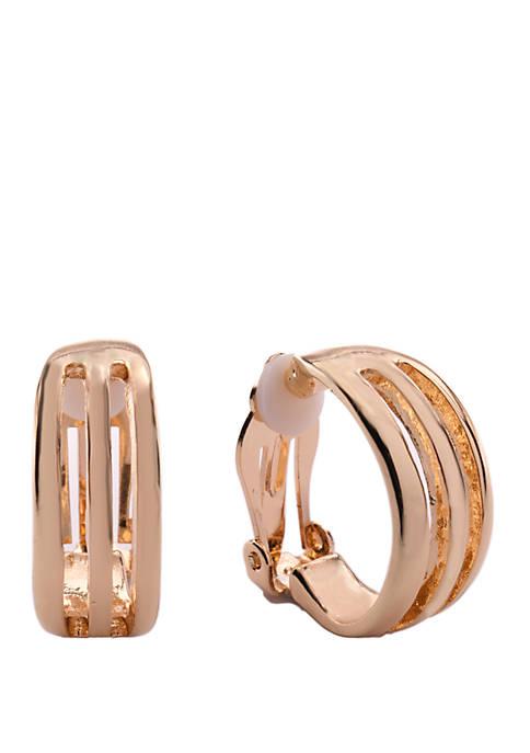 Kim Rogers® Triple Cut Out Earrings