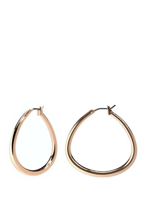 Kim Rogers® Click Tube Hoop Earrings