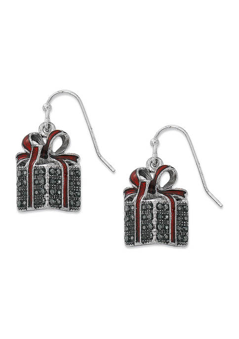Gift Box Earrings