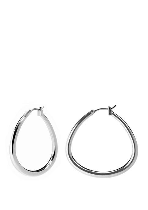 Kim Rogers® Click Top U Hoop Earrings