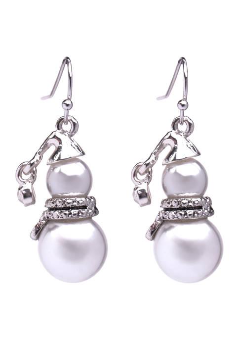 Marc Snowmen Earrings