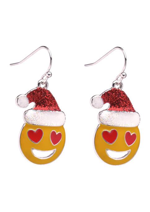 Love Emoji Earrings
