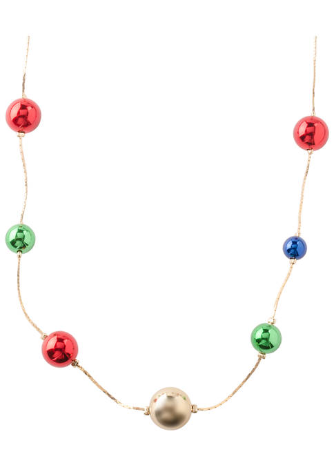Ornament Ball Necklace