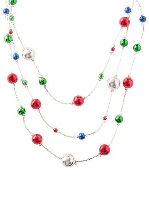 Kim Rogers® 3 Row Necklace