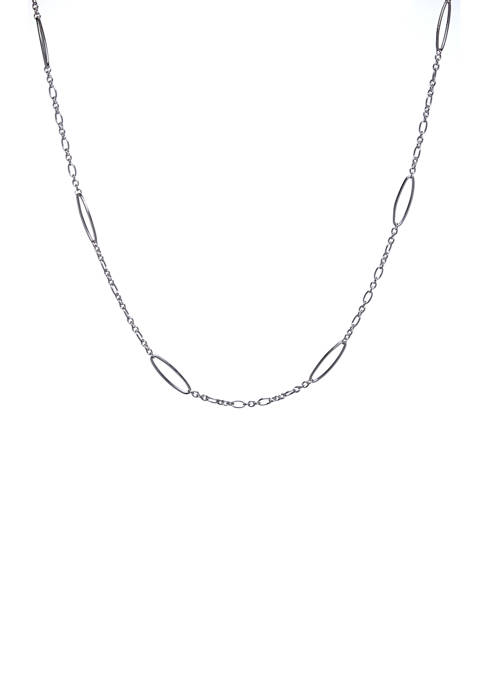 30 Inch Oval Link Necklace