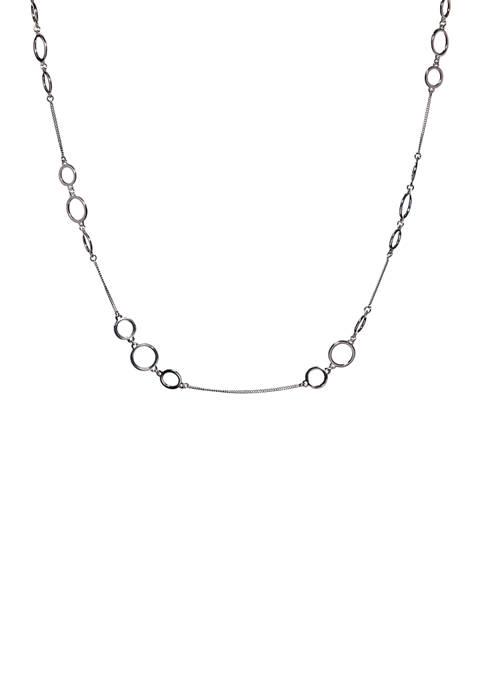 Kim Rogers® 36 Inch Circle Link Necklace