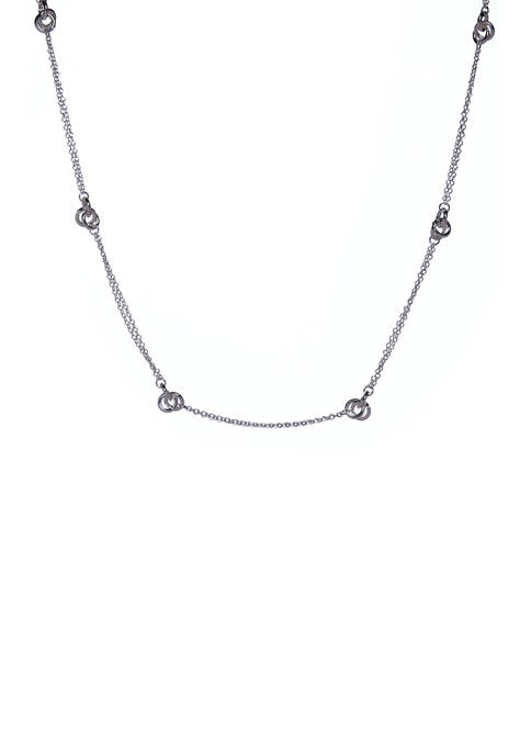 Kim Rogers® 34 Inch Knot Chain Necklace