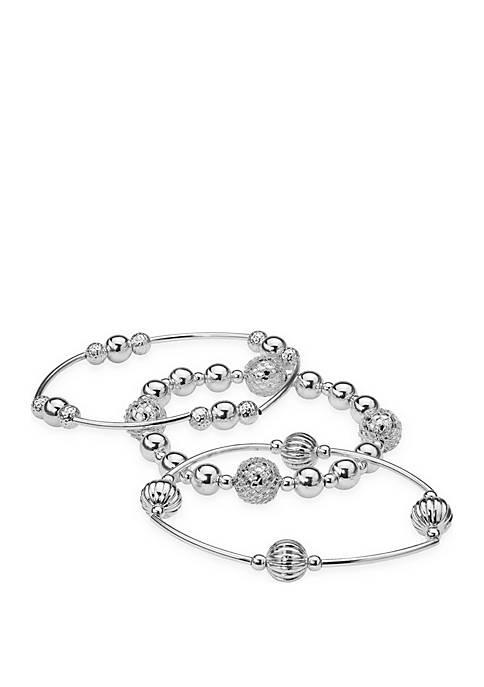3-Piece Stretch Tube Bracelet Set