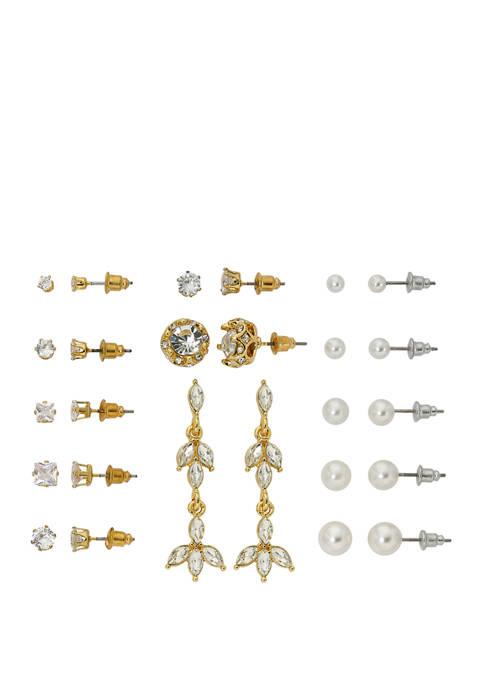 Cubic Zirconium Earring Set