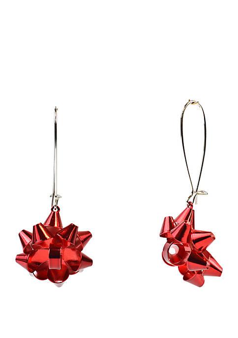Joyland Bow Drop Earrings