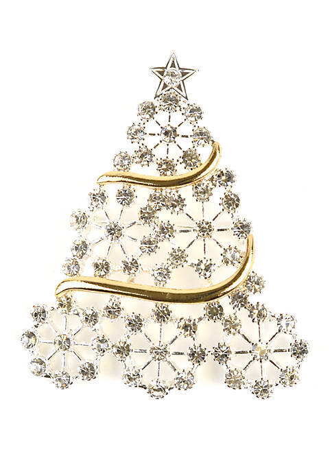 Kim Rogers® Snowflake Tree Pin