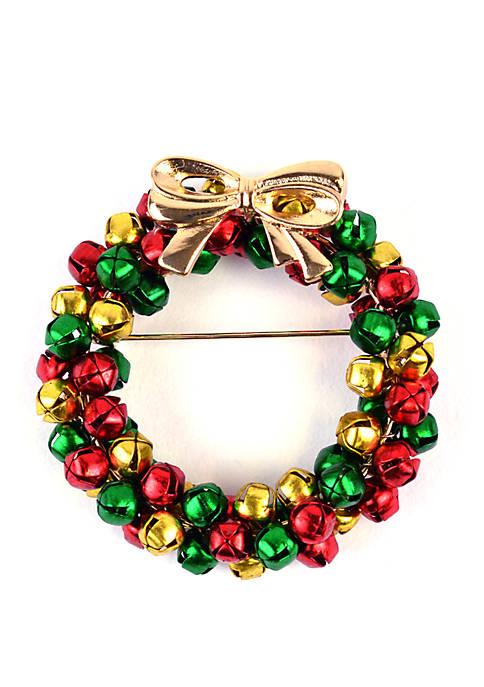 Kim Rogers® Wreath Jingle Pin