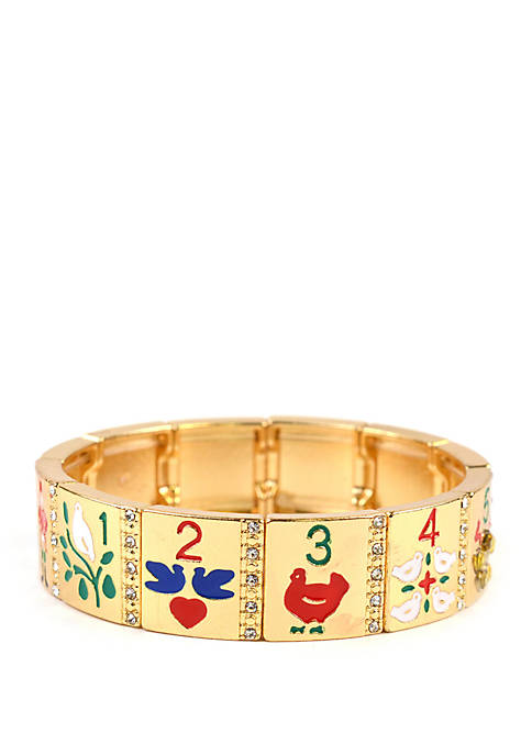 Kim Rogers® Gold Tone 12 Days of Christmas