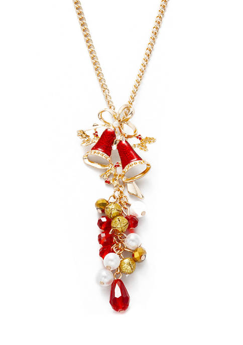 Long Bell Shaky Necklace
