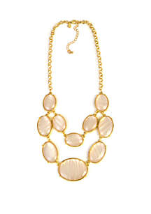 Two Row Mother of Pearl Necklace