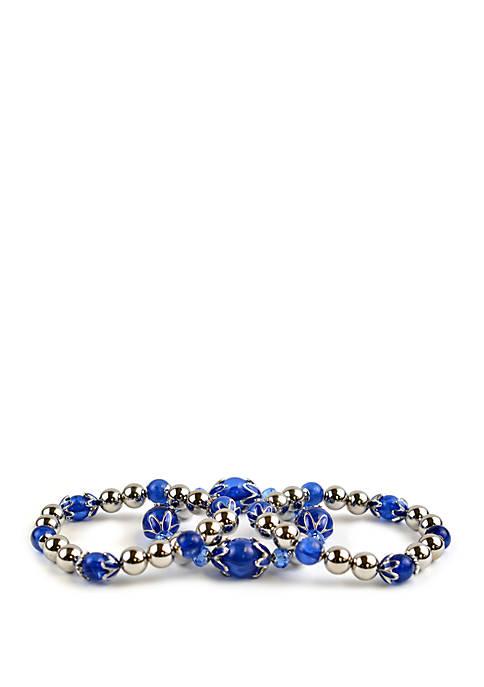 Kim Rogers® 3 Piece Stretch Bracelet Set