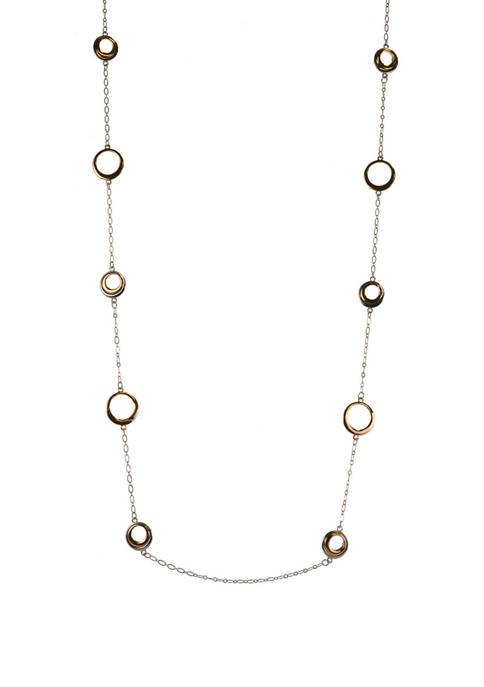 Belk Circle Necklace