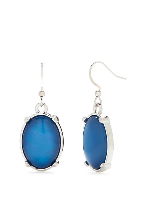 Kim Rogers® Oval Drop Earrings