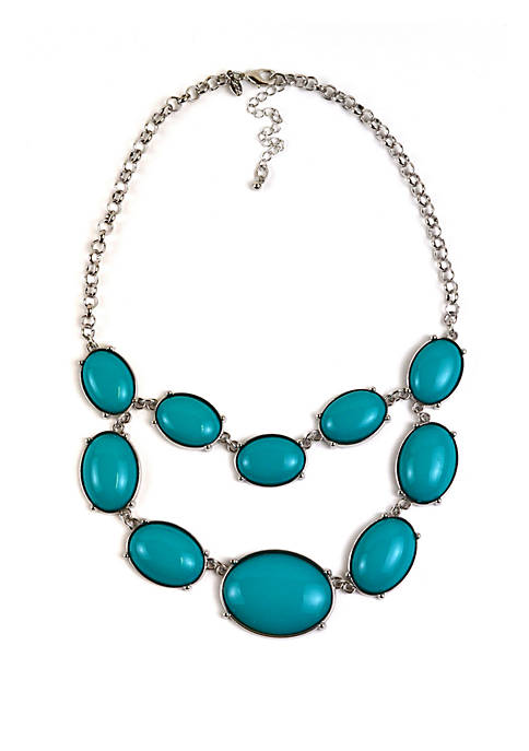 2 Row Statement Necklace