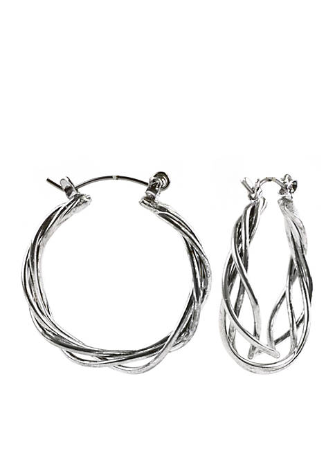 Kim Rogers® French Wire Hoop Earrings