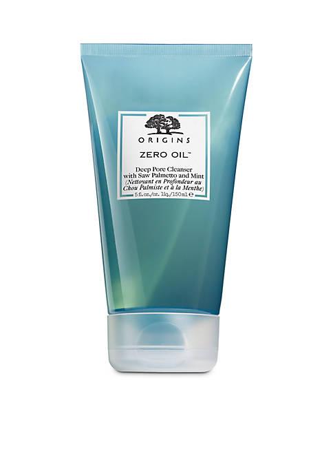 Zero Oil™ Deep Pore Cleanser with Saw Palmetto & Mint