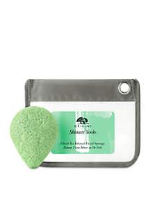 Origins Skincare Tools Green Tea Infused Facial Sponge