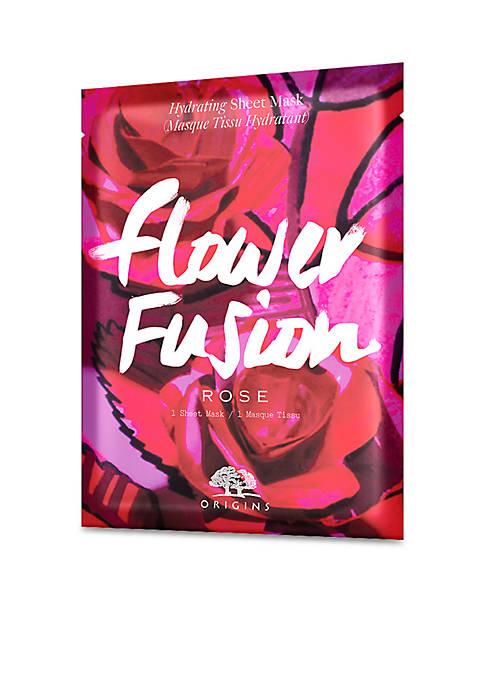 Flower Fusion™ Rose Hydrating Sheet Mask