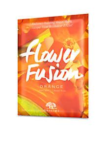 Flower Fusion™ Orange Radiance-Boosting Sheet Mask
