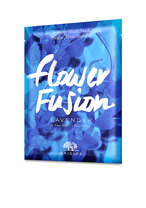 Origins Flower Fusion Sheet Mask- Lavender