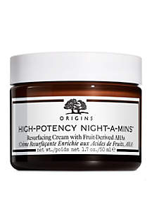 High Potency Night-A-Mins Resurfacing Cream with Fruit-Derived AHA's
