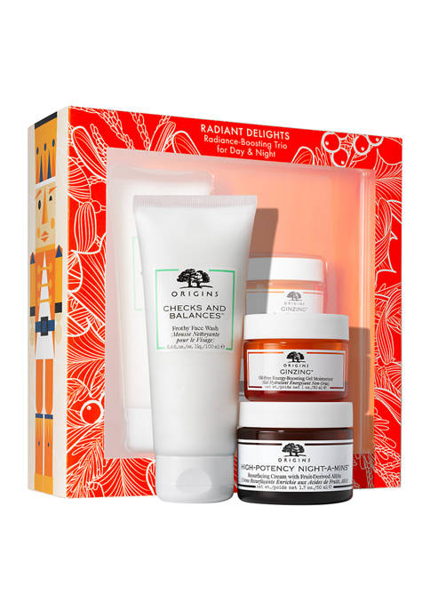 Radiant Delights Radiance-Boosting Trio for Day & Night