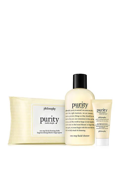 philosophy purity 3-piece set
