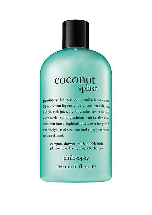 coconut splash shower gel