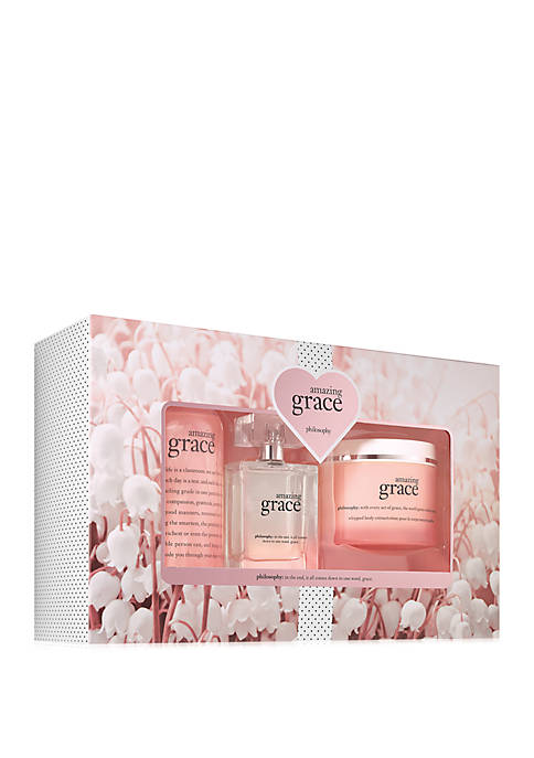philosophy amazing grace eau de parfum 3-piece set