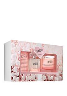 philosophy amazing grace eau de parfum 3 piece set