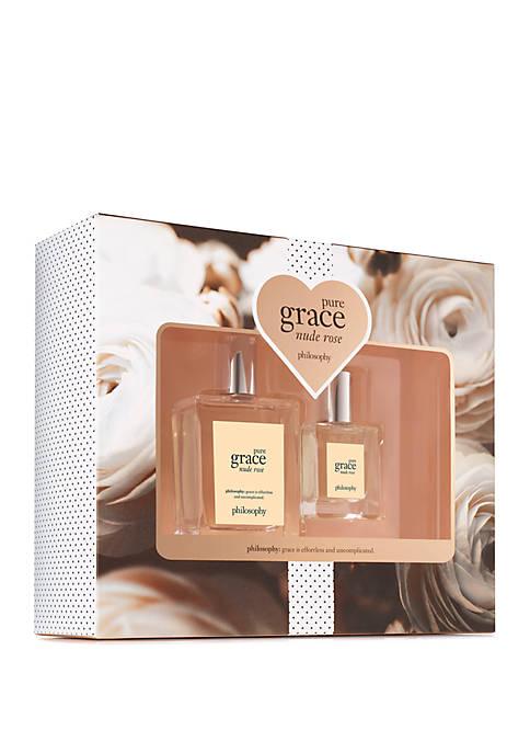 philosophy amazing grace nude rose 2-piece set