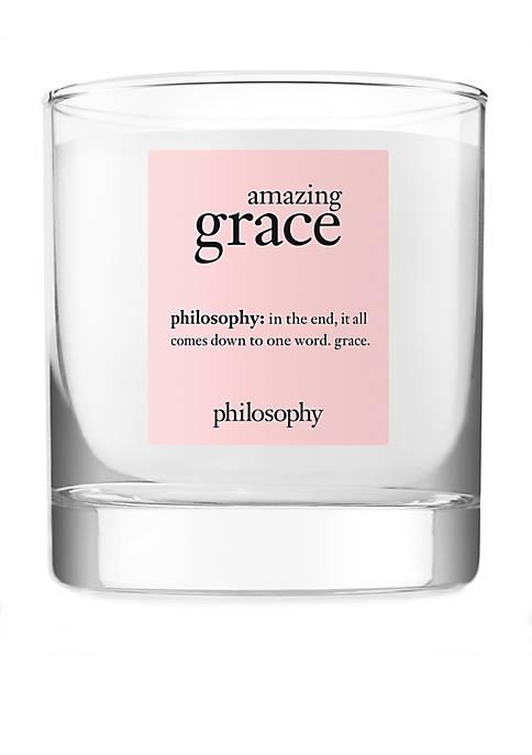 philosophy amazing grace candle