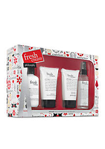 fresh cream 4-piece set