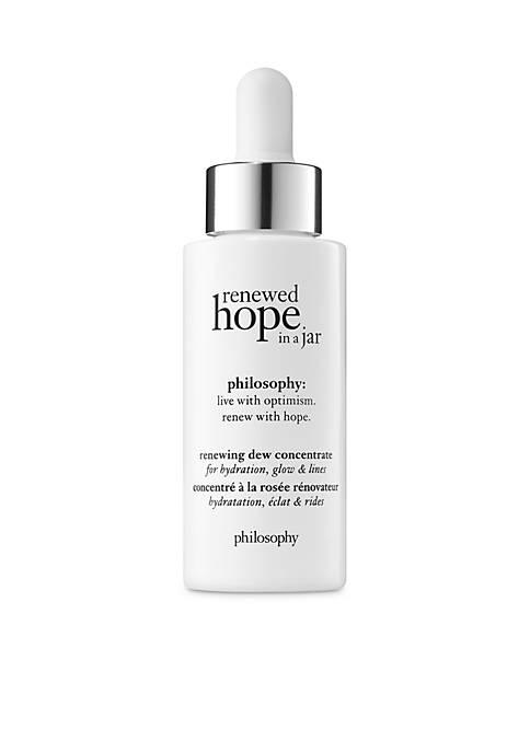 renewed hope renewing dew concentrate