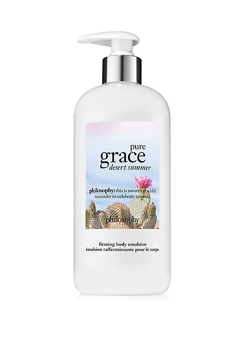 pure grace desert summer body emulsion