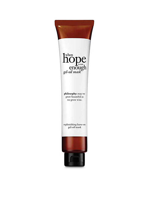when hope is not enough replenishing comfort mask