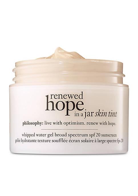 renewed hope in a jar skin tint SPF 20