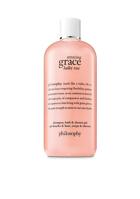 amazing grace ballet rose shower gel